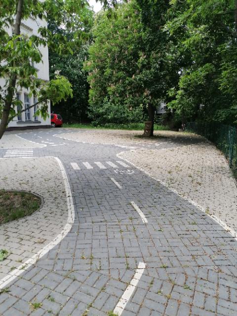 Dopravní hřiště u MŠ Statoška